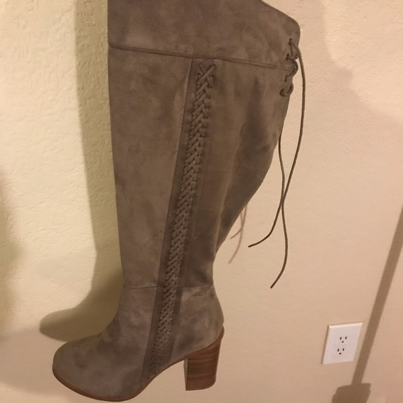 97d4fa5311a ... THIS ITEM IS SOLD! Torrid Over the Knee Boots.  M 5bf25272aaa5b85f66ce3846